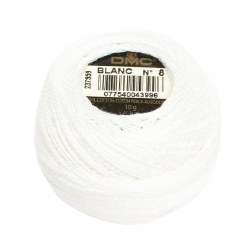 DMC Pearl Cotton White