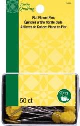 Pins - Flat Flower Pins 50