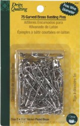 Pins, Curved Basting Size 2