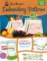 Fruits and Veggies Embroidery