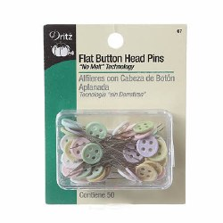 Pins-Flat Pastel Button