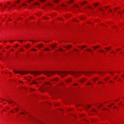 Crochet Bias Red