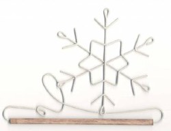 Holder 6 Inch Snowflake