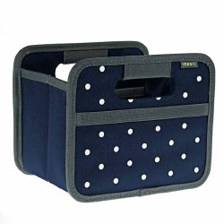 Foldable Box Mini Dot Navy