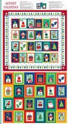 Novelty Christmas Advent Panel