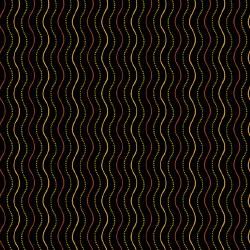 Haunting Wavy Stripe Black