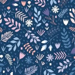 Floral Splendor Floral Blue