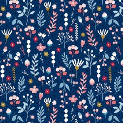 Forest Talk Mountain Floral Bl