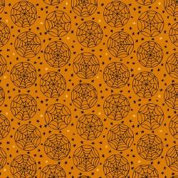 Haunting Spiderweb Orange
