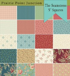The Seamstress 5 Inch Squares