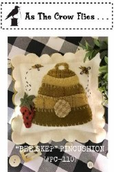 Bee Skep Pincushion