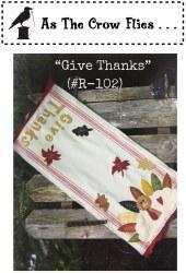 Give Thanks Runner