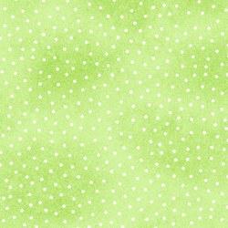 Comfy Flannel Dots Green