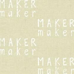 Maker Maker Words Cream