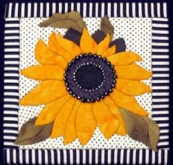 Sunflower Quilt Board