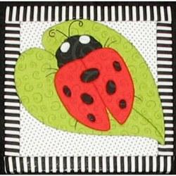 Ladybug Quilt Board