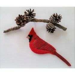 Cardinal Ornament Kit