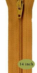 "Zipper 14"" Yukon Gold"