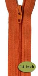 "Zipper 14"" Orange Peel"