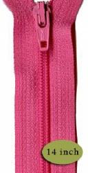 "Zipper 14"" Rosy Cheeks"