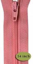"Zipper 14"" Pink Frosting"