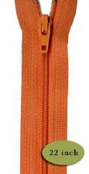 "Zipper 22"" Orange Peel"