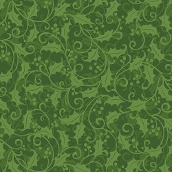 Better Not Pout Holly Swirl Green Stash Builder