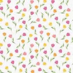 Full Bloom Tiny Tulip Wh/Pk
