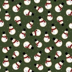 Jingle Bell Flannel Snowman Gr