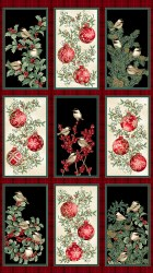 Winter Elegance Ornament Panel