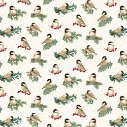 Winter Elegance Chickadee Nat