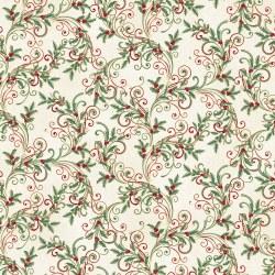 Winter Elegance Leaf Scroll Na