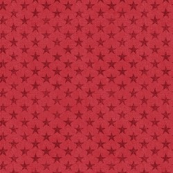 American Rustic Stars Red