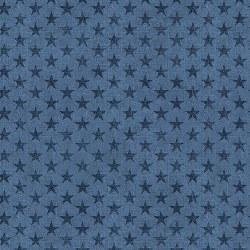 American Rustic Stars Blue
