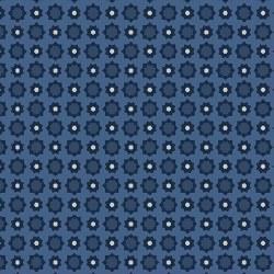 American Rustic Foulard Blue