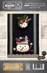 Vintage Tablerunner January Ki
