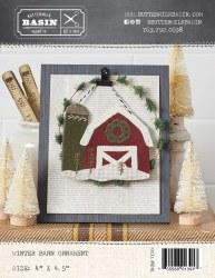 Winter Barn Ornament