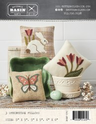 3 Springtime Pillows