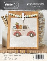 Vintage April Truck Ornament
