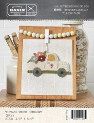 Vintage May Truck Ornament