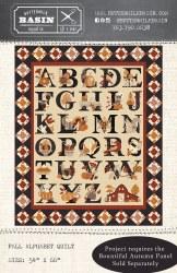 Fall Alphabet Quilt