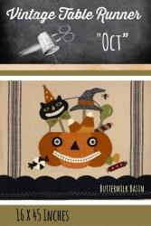 Vintage Tablerunner October
