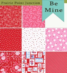 Be Mine 8 Fat Quarters