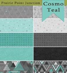 Cosmo 10 Fat 1/4s Teal
