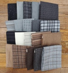 Farmhouse Flannel 24 Fat 1/4s