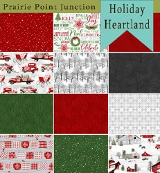 Holiday Heartland 12 FQs