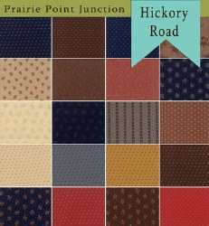 Hickory Road 16 Fat Quarters