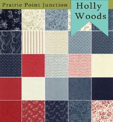 Holly Woods 25 Fat Quarters