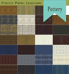 Pottery 27 Fat Quarters