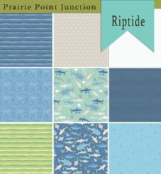 Riptide 8 Fat Quarters